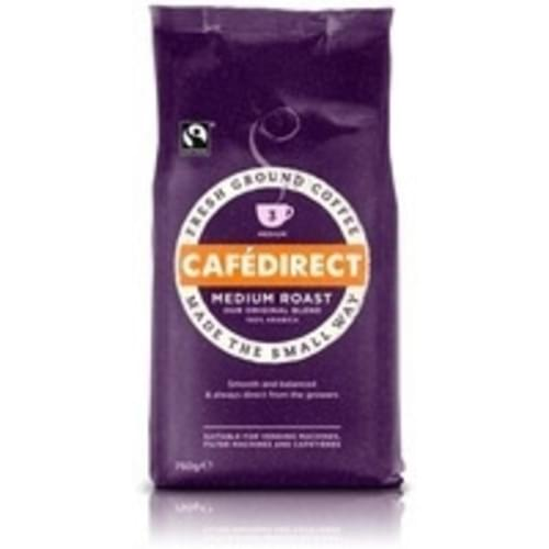 Cafe Direct Fairtrade Ground Coffee 750g