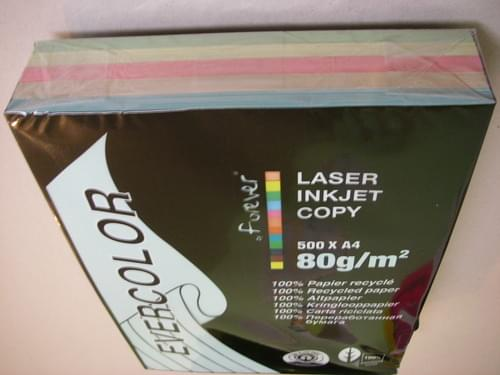 Mixed Colours Recycled 80gsm Copier Paper A4
