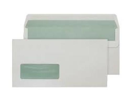 Recycled Off-White DL Window Envelopes x 500