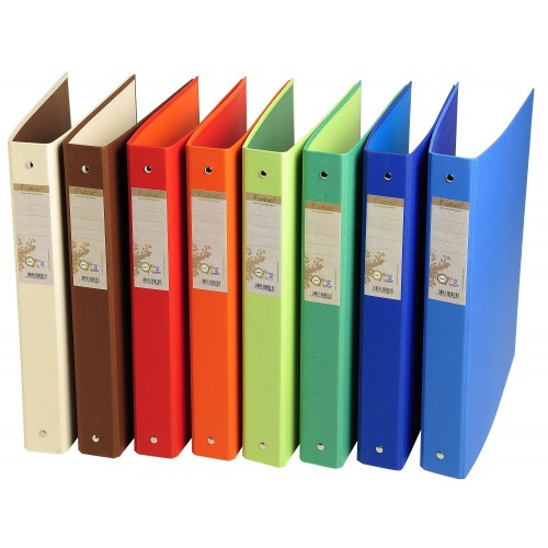 Forever Recycled Ring Binders Mixed Colours X 10