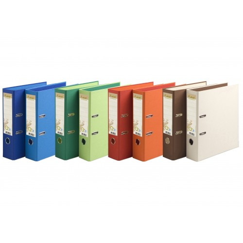 Forever Recycled Lever Arch Files Mixed Colours x 10