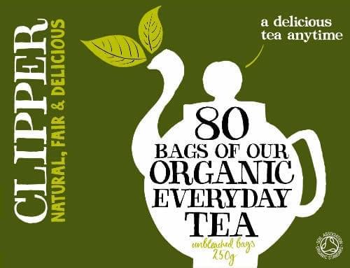Clipper Organic Tea bags Box of 80