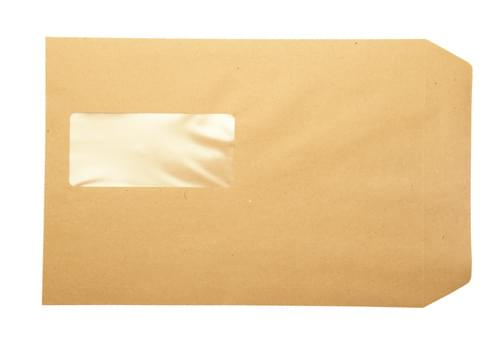 Recycled Brown Manilla C4 Window Envelopes pack 250