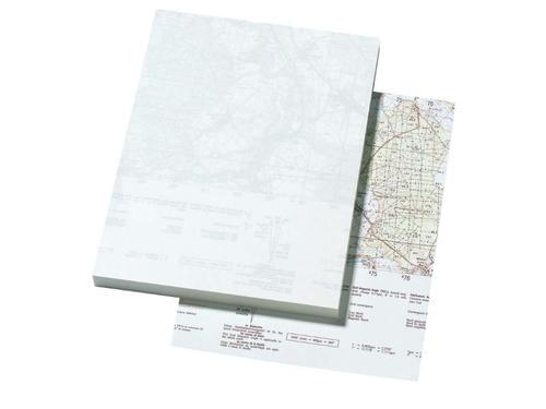 Recycled Edge of Map Pad A5 100 Sheets