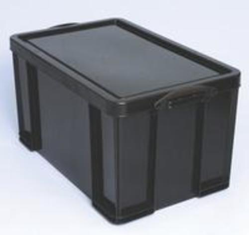 Really Useful Recycled Plastic 84litre box