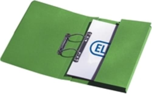 Recycled Green Transfer Pocket Files