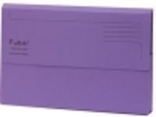 Guildhall Forever Recycled Bright Manilla Wallet Pack of 25 Purple