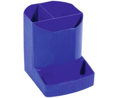 Recycled Juice Bottle Desk Tidy Blue