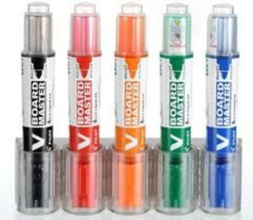 Begreen Recycled Refillable Whiteboard Markers bullet x 5