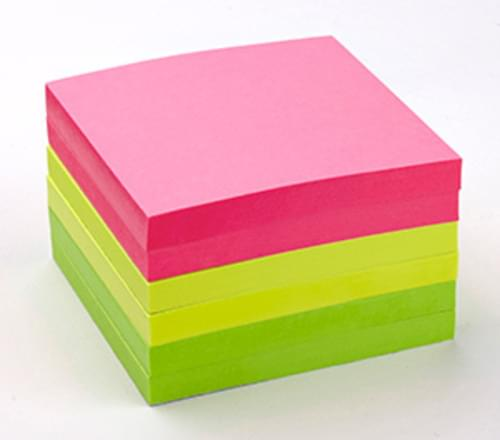 FSC Economy Intensive Sticky Notes 75x75mm