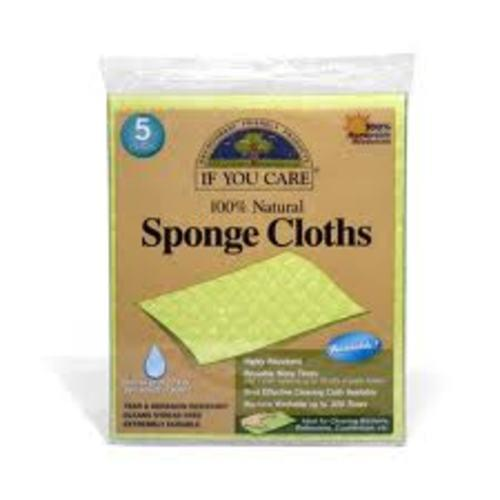 Biodegradable Sponge Cleaning Cloths x 5