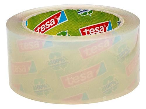 Clear 100% Recycled Strong Packing Tape 50mm x 66m 1 roll