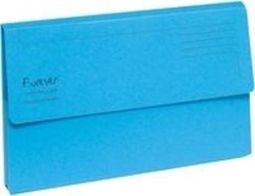 Guildhall Forever Recycled Bright Manilla Wallet Pack of 25 Blue