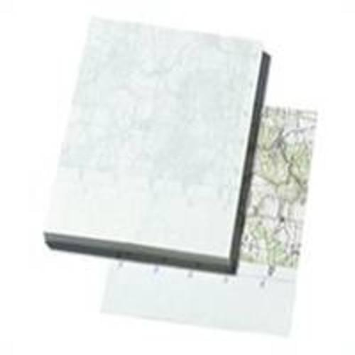 Recycled Map Pad A5 100 Sheets