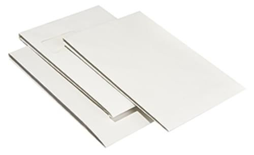 Recycled White Padded Gusset Envelopes B4 pack 100