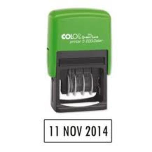 Greenline Recycled Self Inking Dater Stamp