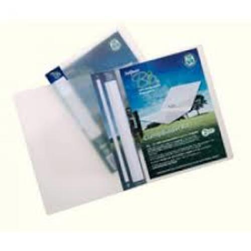 Biodegradable Ring Binders A4 Clear pack 10