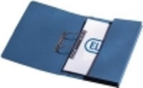 Recycled BlueTransfer Pocket Files