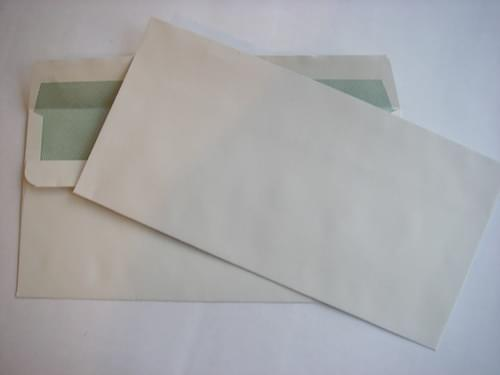 Recycled Off White DL Envelopes Box 500