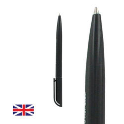 Recycled Retractable Black Pens