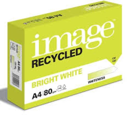 Image Recycled Bright White Copy Paper A4 80gsm