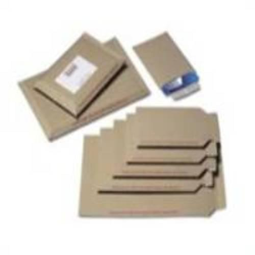 Recycled Brown C4 All Board Envelopes pack 10