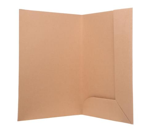 Recycled Tri-Flap Brown Folders pack of 10