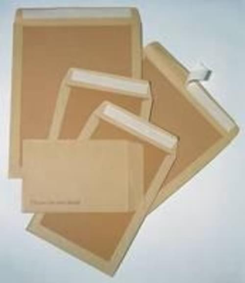 Recycled Brown C5+ Board Back Envelopes pack 125