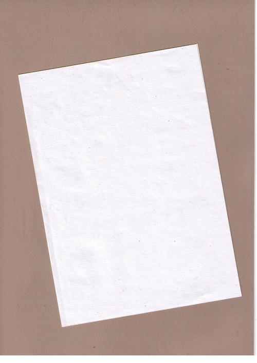 White Ribbed Recycled Kraft Paper A4 90gsm 100 sheets
