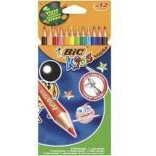 Bic Ecolutions Recycled Plastic Colouring Pencils pack 12