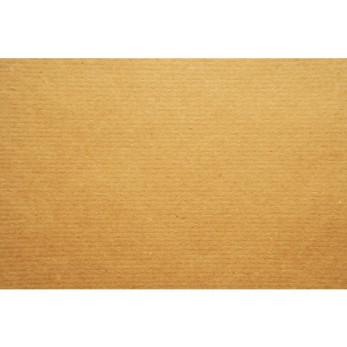 Light Brown Ribbed Recycled Kraft Paper 90gsm A3 x 500 sheets