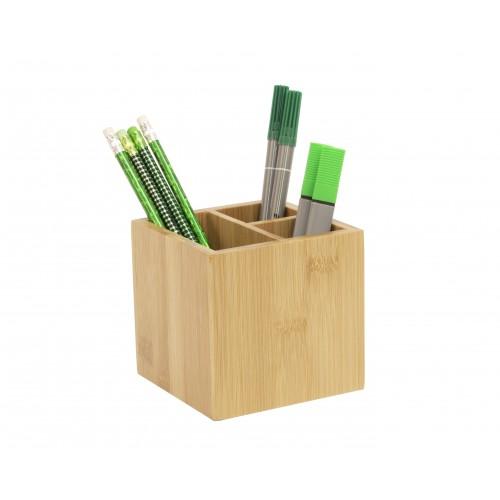 Bamboo Pen Pot Tidy