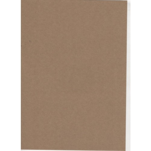 Brown Card Rough Recycled A4 280gsm 50 sheets