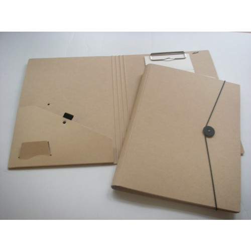 Recycled Natural Brown Conference Folder