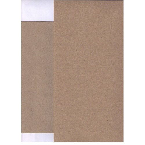 Brown Paper Recycled Rough Kraft A4 130gsm x 100 sheets