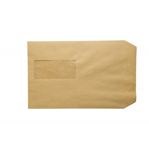 C5 Manilla Window self seal envelopes