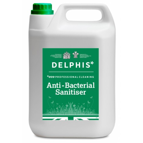 Delphis Eco Anti Bacterial Sanitiser concentrate 5ltr x 1