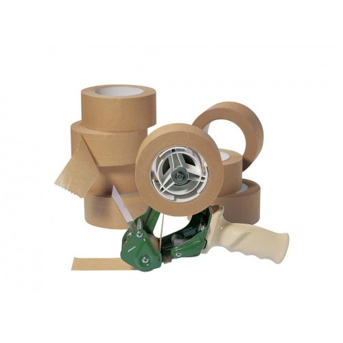 Economy Eco Paper Packing Tape 48mm x 50m Roll