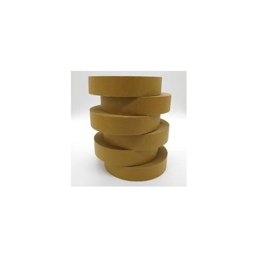 """Eco Brown Paper Tape 25mm/1"""" width"""