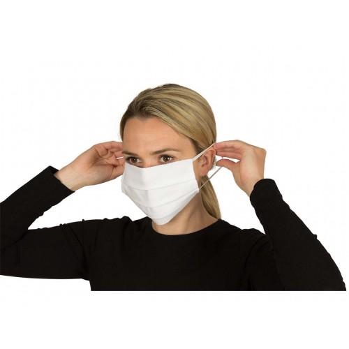 Fairtrade White Cotton Reusable Machine Washable Mask x 2