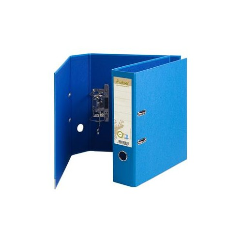 Forever Recycled Lever Arch Files Light Blue x 10