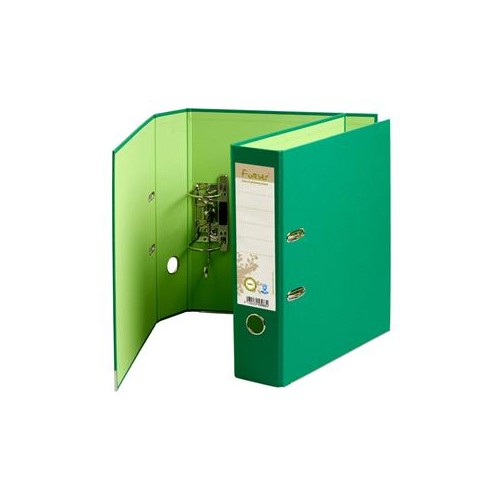 Forever Recycled Lever Arch Files Dark Green x 10