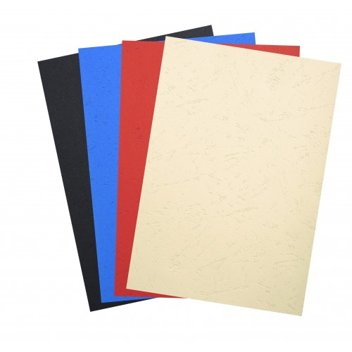 Recycled A4 Grained Cover Boards and Card 270gsm four colous x 100