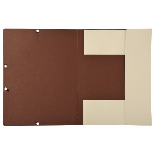 Forever Ivory Recycled Tri-Flap Folders pack of 25