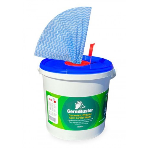 Germbuster Disinfectant Wipes Tub 500