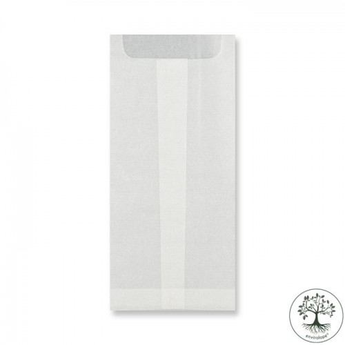 DL Glassine Bags  220x110mm box of 1,000