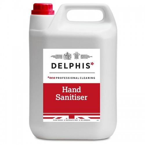 Delphis Eco 5ltr Hand Sanitiser Foam x 2 (10 litres in total)