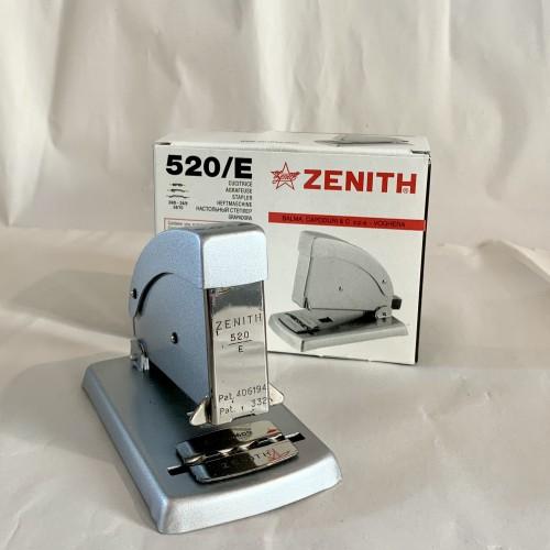 All Metal Zenith 520 Stapler Matt Silver - Plastic Free - Life Time Guarantee