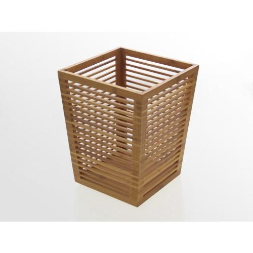 Sustainable Bamboo Waste Bin