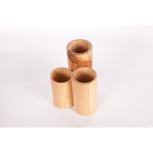 Recycled Wood Charity Made Tube Tidy